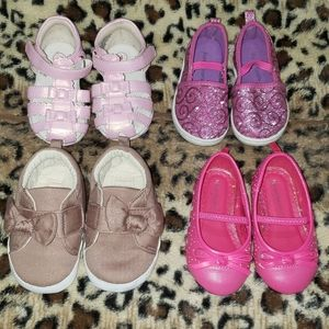 Size 4 baby girl shoes